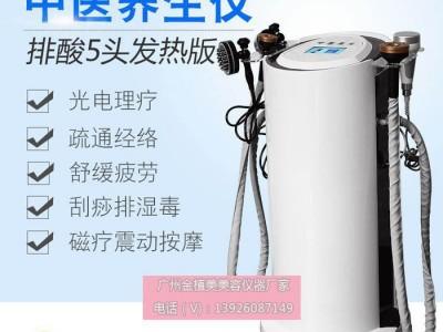 中医排酸养生仪 发热刮痧拔罐导入理疗养生仪器 中医排毒祛湿仪器 中医排酸仪