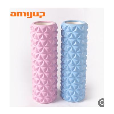热卖推荐瑜伽产品新款可订做高级瑜伽深层按摩肌肉放松狼牙泡沫轴