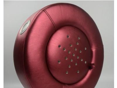 跨境圆形皮质艾灸蒲团温控坐灸蒲团灸艾灸凳熏灸凳控温聚艾效适用