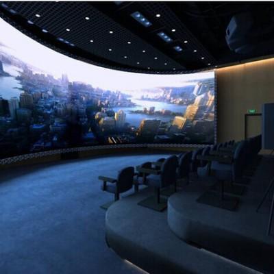 西安一笔一画 数字化大健康多媒体展馆展厅 数字化生物医疗展览馆安防指挥中心