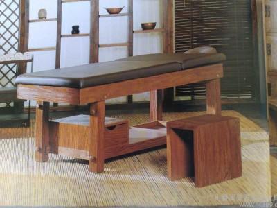 广州豪匠美业家具厂  专业定做中式美容床美容美体床按摩床 泰式按摩床理疗床 **批发SPA GL-1033