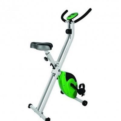 X型健身车家用健身器材 磁控减肥健身车 家用动感单车