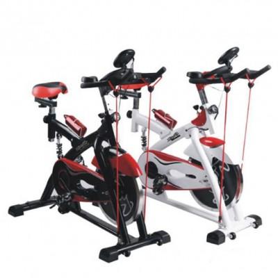 带皮带静音室内运动减肥健身器材 动感单车 家用脚踏自行车健身