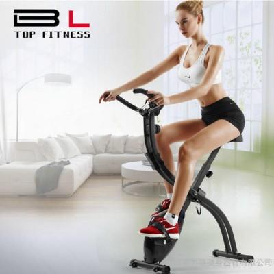 美力健身车家用超静音室内折叠动感单车 健身器材脚踏车运动自行车