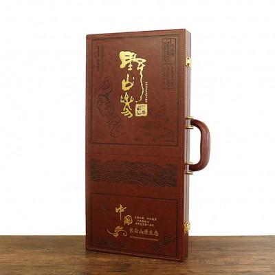 山参礼盒木盒林下参长白山灵芝山参泡酒